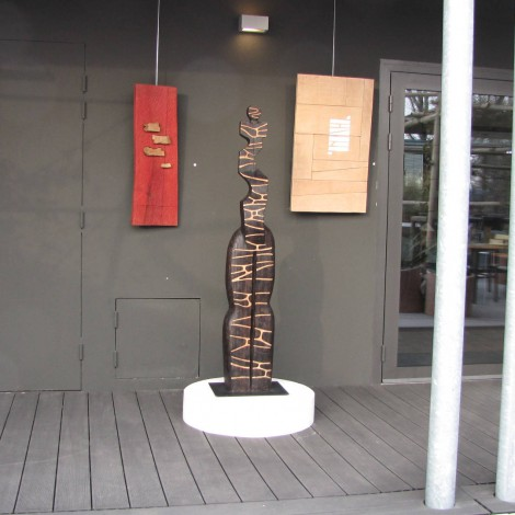 Christiane GIRAUD : Sculptures bois