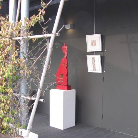 Christiane GIRAUD : Sculpture en bois