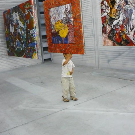 Franck CAVADORE : Peintures