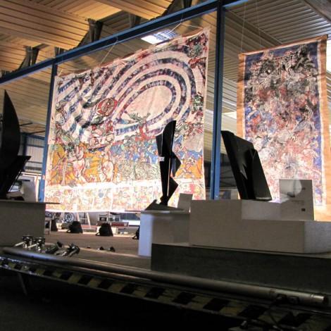 Gilles PLANTADE : Sculptures métal | Franck CAVADORE : Peintures