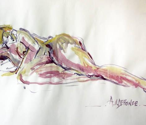 Anne ILDEFONSE : Peinture
