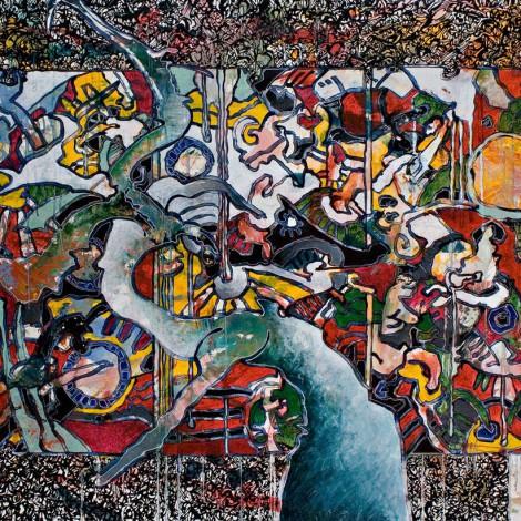Franck CAVADORE : Peinture