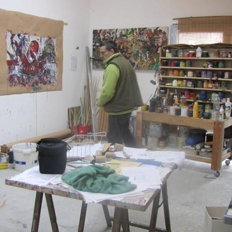 Franck CAVADORE : Peinture Atelier