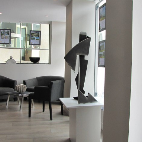 Gilles PLANTADE : Sculpture métal