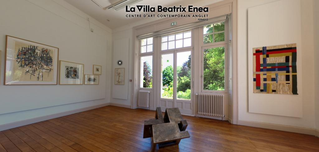 Sculpture de Gilles PLANTADE présentée dans le cadre de l'exposition « 40 ans &+ », regard sur la collection d'art contemporain de la ville d'Anglet en 2020