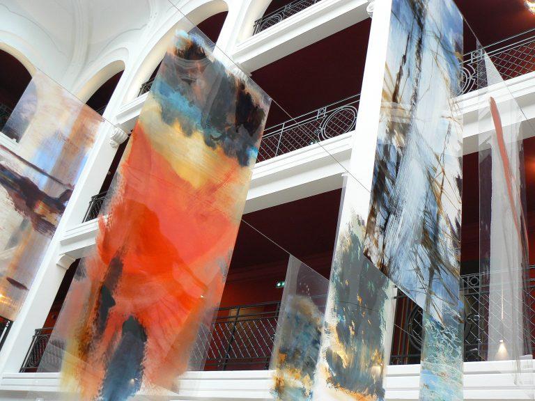 Œuvres de Nadine ARRIETA exposée lors de l'évènement LE REGINA Biarritz en 2015 - © Isabelle PALE