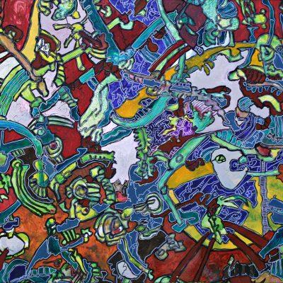 Tableau n°12122 - Artiste Franck CAVADORE - Dimensions100x70cm -