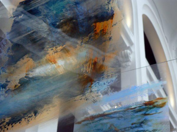 Chroniques de Port Louis 3 - Œuvre de Nadine ARRIETA exposée lors de l'évènement LE REGINA Biarritz en 2015 - © Isabelle PALE