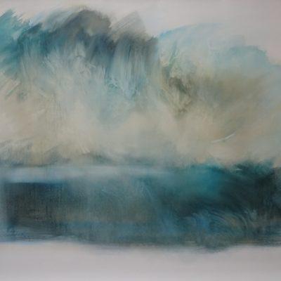 Sur les bords du Léthé 3 - Artiste Nadine ARRIETA - 94cm x 107cm - 1500 euros