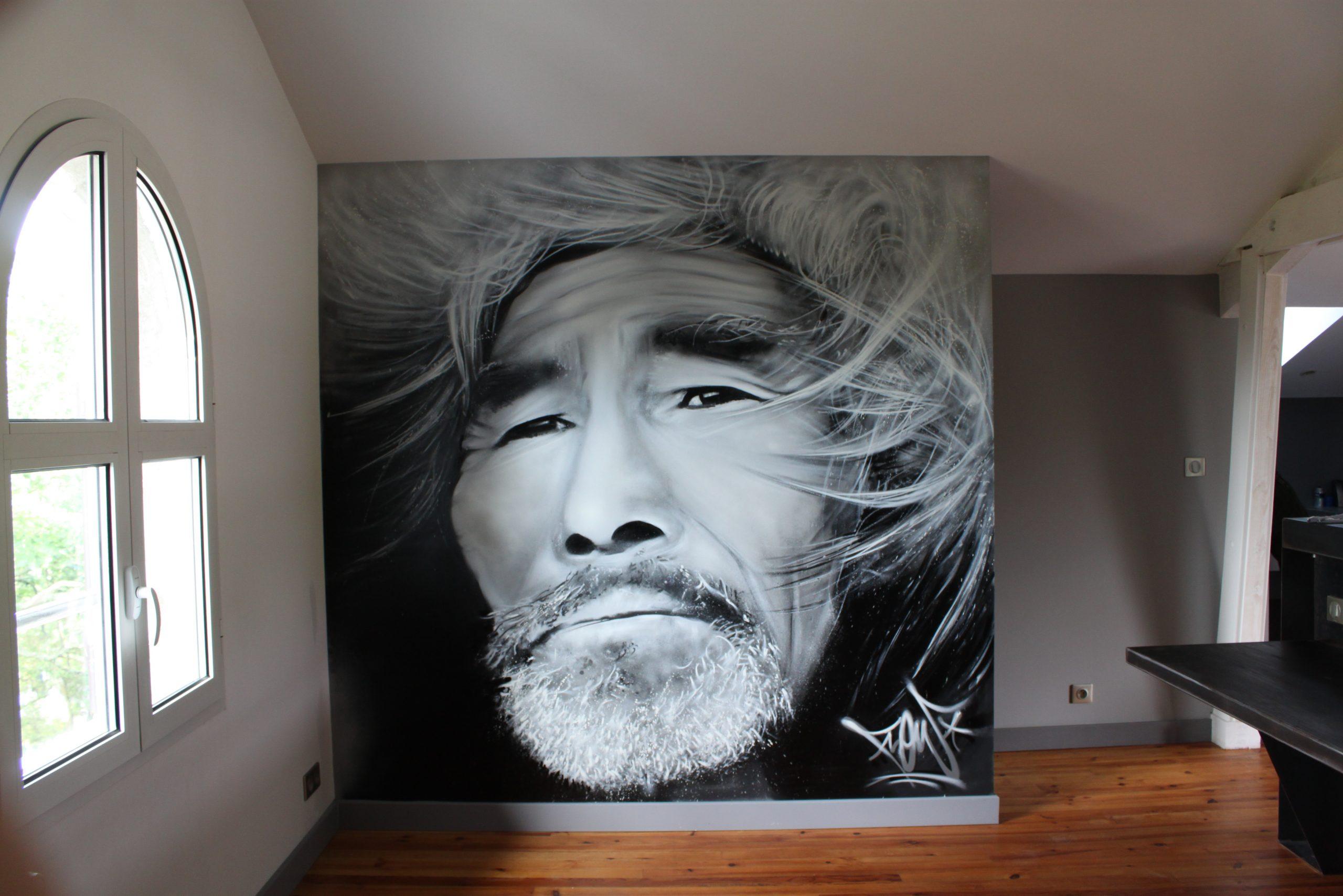 Flow Graffeur œuvre in situ