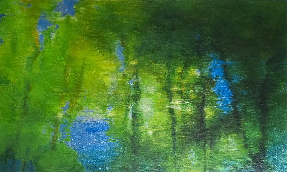 Œuvre de Michel Basset reflets